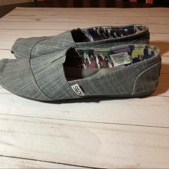 Skechers Shoes - Skechers Bobs Gray 8.5 w/ arch pillow
